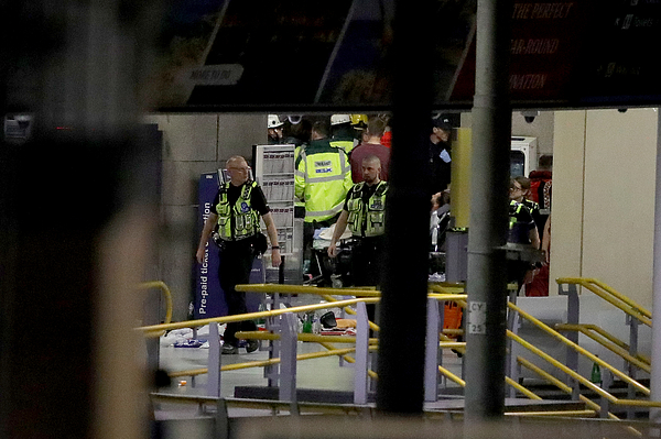 Deadly Blast at Manchester Arena Photograph by Christopher Furlong