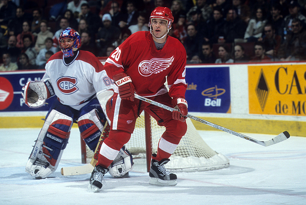 Detroit Red Wings v Montreal Canadiens Photograph by B Bennett