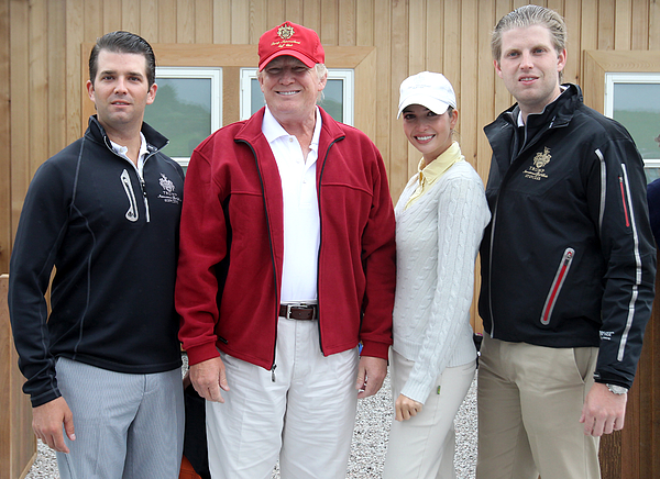 Donald Trump golf resort Photograph by Andrew Milligan - PA Images