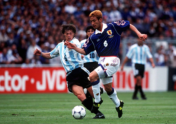 FUSSBALL: WM FRANCE 98 Toulouse, 14.06.98 Photograph by Mark Sandten