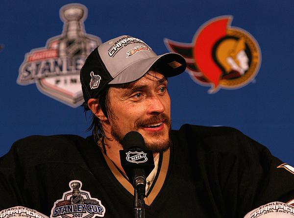 Game 5 - Ottawa Senators v Anaheim Ducks Photograph by Jeff Golden