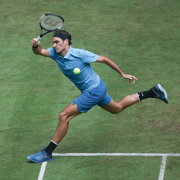 Gerry Weber Open - Day 2 Photograph by Alex Grimm