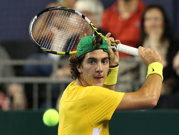 Great Britain v Australia Davis Cup Semi Final 2015 - Day 3 Photograph by Mark Runnacles