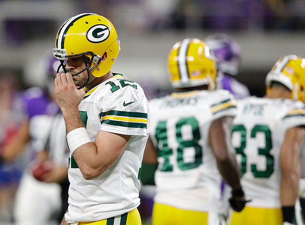 Green Bay Packers v Minnesota Vikings Photograph by Jamie Squire