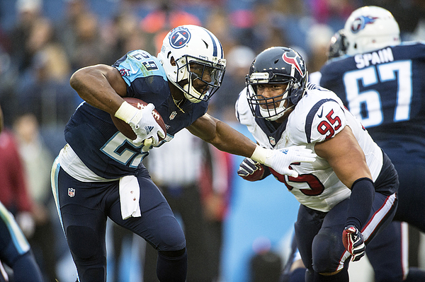 Houston Texans v Tennessee Titans Photograph by Ronald C. Modra