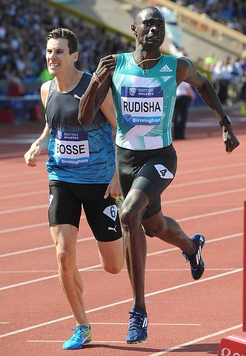 IAAF Diamond League 2016 Photograph by Anadolu Agency