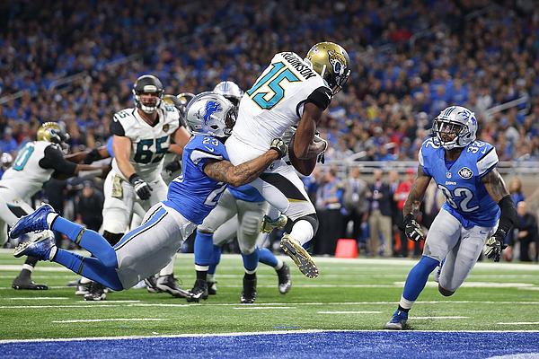 Jacksonville Jaguars v Detroit Lions Photograph by Leon Halip