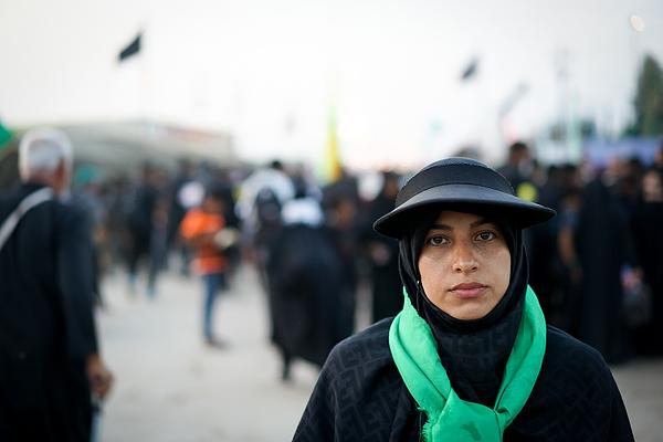 Muslim Woman Portrait On Street Photograph by Jasmin Merdan