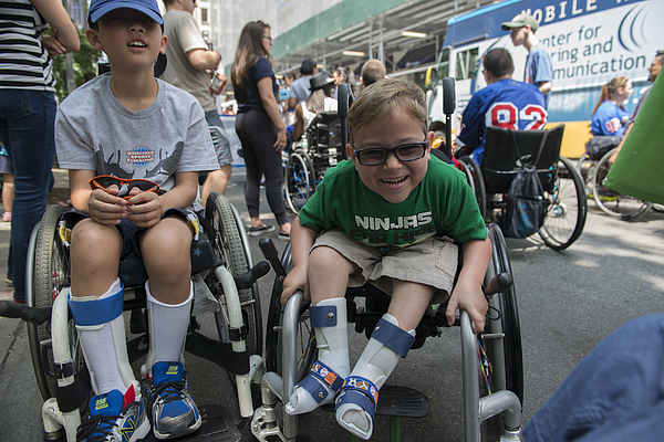 New York City Hosts First Annual Disability Pride Parade Photograph by Stephanie Keith