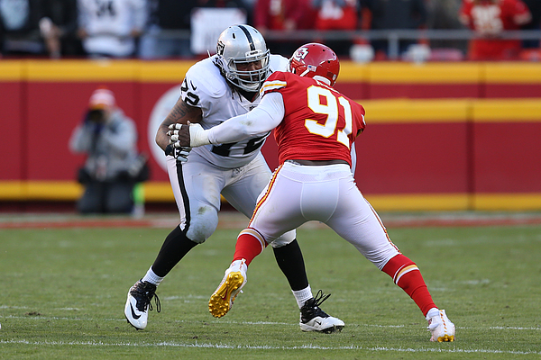 NFL: DEC 10 Raiders at Chiefs Photograph by Icon Sportswire