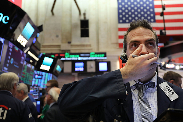 NY Stock Exchange Opens One Day After Dow Plunges In Reaction To Tariffs Photograph by Spencer Platt