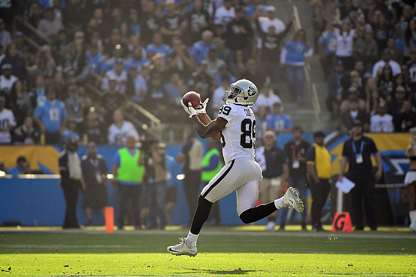 Oakland Raiders v Los Angeles Chargers Photograph by Harry How