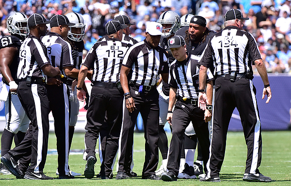 Oakland Raiders v Tennessee Titans Photograph by Frederick Breedon