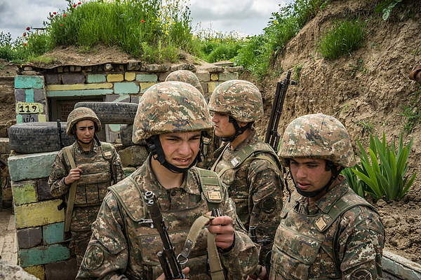 On The Front Line Of A Frozen Conflict In Nagorno-Karabakh Photograph by Brendan Hoffman