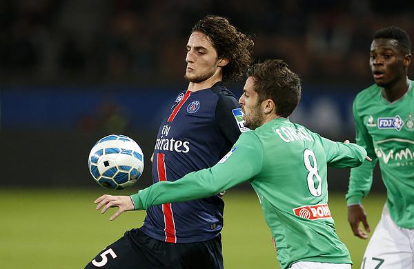Paris Saint-Germain v AS Saint-Etienne - French League Cup Photograph by Jean Catuffe