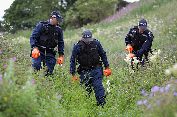 Police Enter Day 7 In the Hunt For Gunman Raoul Moat Photograph by Dan Kitwood