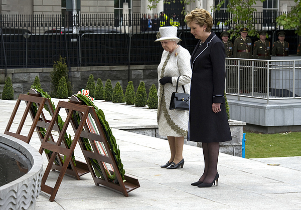 Queen Elizabeth IIs Historic Visit To Ireland - Day One Photograph by Pool