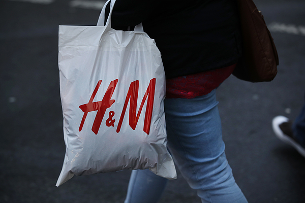 Retailer H&M Struggles With Falling Profits Photograph by Sean Gallup