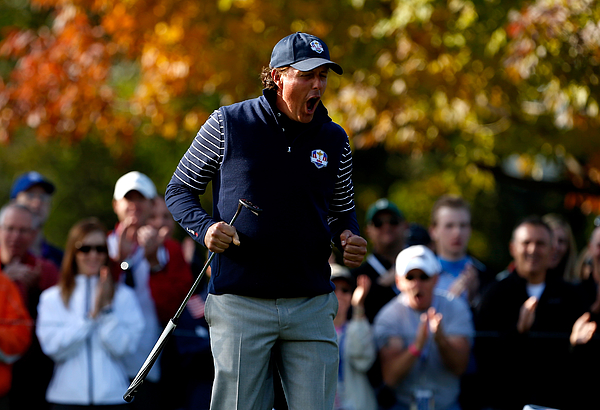 Ryder Cup - Day Two Foursomes Photograph by Jamie Squire