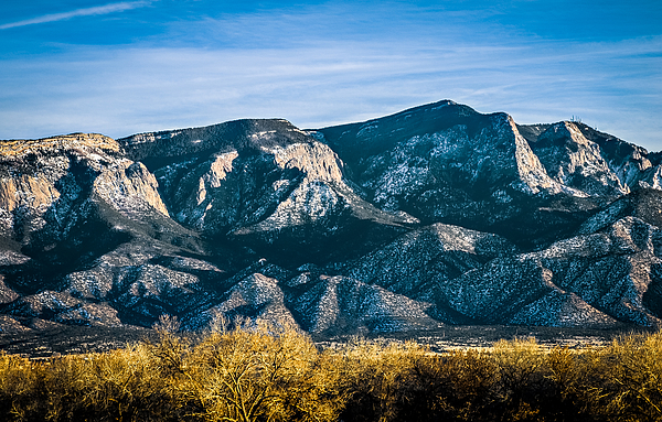 Sandia Mountains Photograph by Ivanastar