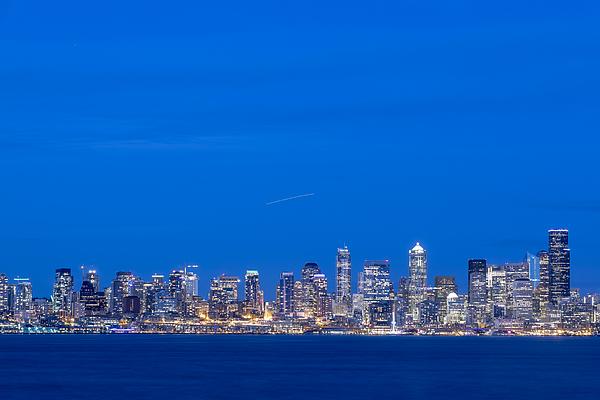 Seattle Skyline, Usa, Washington, Seattle Photograph by Malorny