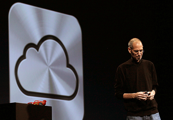 Steve Jobs Introduces Icloud Storage System At Apples Worldwide Developers Conference Photograph by Justin Sullivan