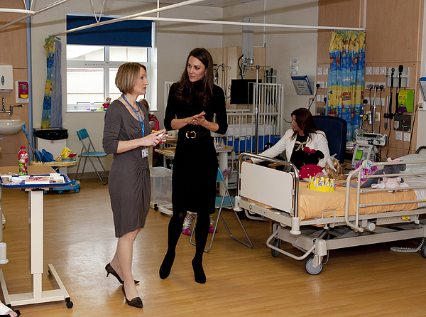 The Duchess Of Cambridge Visits Liverpool Photograph by WPA Pool