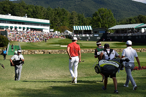 The Greenbrier Classic - Final Round Photograph by Jared C. Tilton