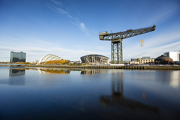 The River Clyde, Glasgow Photograph by Theasis