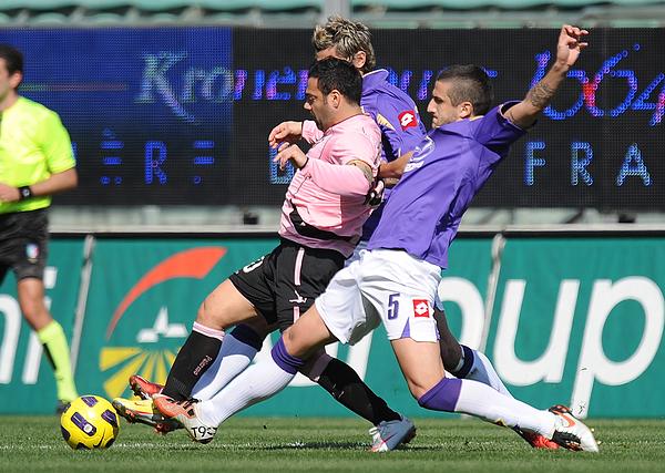 Us Citta Di Palermo V Acf Fiorentina - Serie A Photograph by Tullio M. Puglia