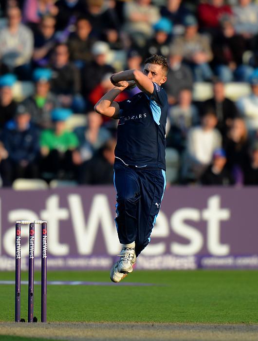 Worcestershire v Yorkshire - NatWest T20 Blast Photograph by Tony Marshall