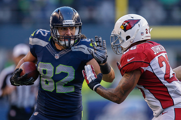 Arizona Cardinals v Seattle Seahawks Photograph by Otto Greule Jr
