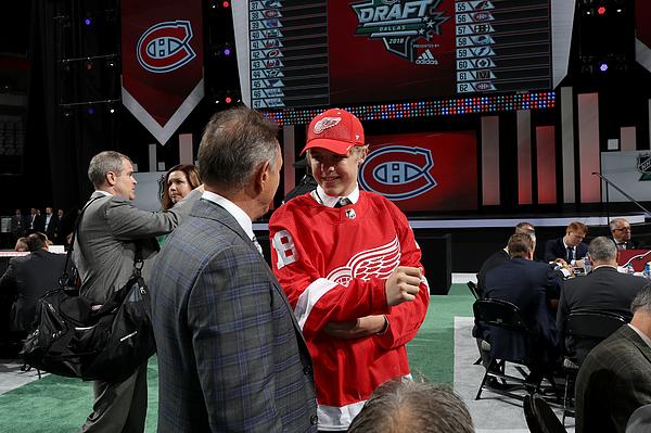 2018 NHL Draft - Rounds 2-7 Photograph by Bruce Bennett