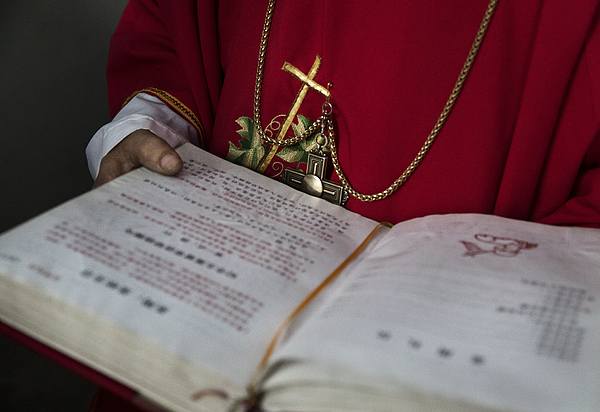 Chinese Christians Mark Holy Week At Underground Church Photograph by Kevin Frayer