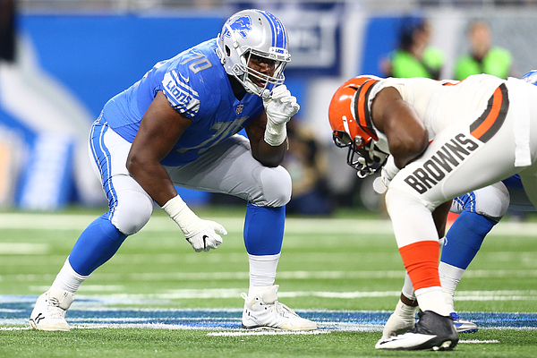 Cleveland Browns v Detroit Lions Photograph by Rey Del Rio