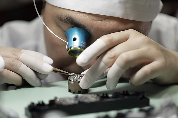Inside Seiko Watch Factory As Japanese Watchmakers Boost High-end Segment Photograph by Bloomberg