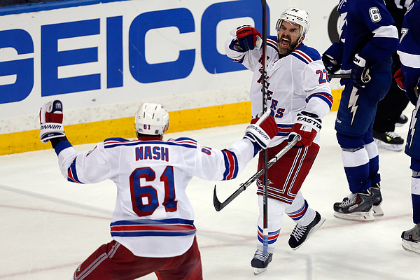New York Rangers v Tampa Bay Lightning - Game Three Photograph by Mike Carlson