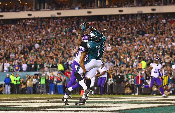 Nfc Championship - Minnesota Vikings V Philadelphia Eagles Photograph by Mitchell Leff