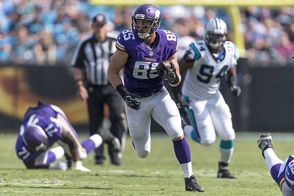 NFL: SEP 25 Vikings at Panthers Photograph by Icon Sportswire