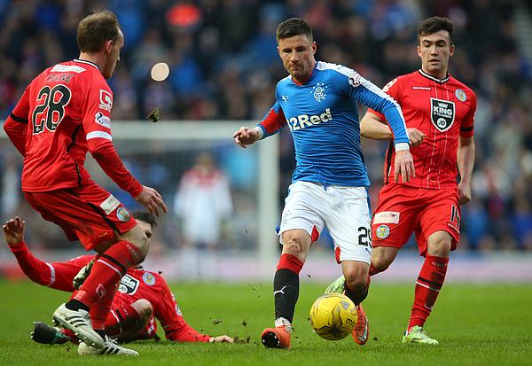 Rangers v St Mirren - Scottish Championship Photograph by Ian MacNicol