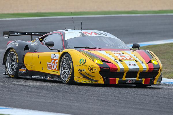 Session tests of European Le Mans Series Estoril Photograph by NurPhoto