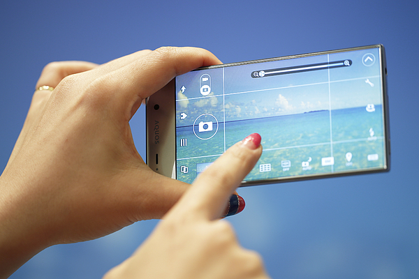 SoftBank Corp. Unveils New Smartphones Developed With Sprint Photograph by Bloomberg