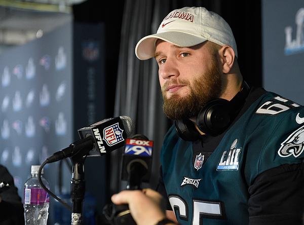 Super Bowl LII - Philadelphia Eagles Media Availability Photograph by Hannah Foslien