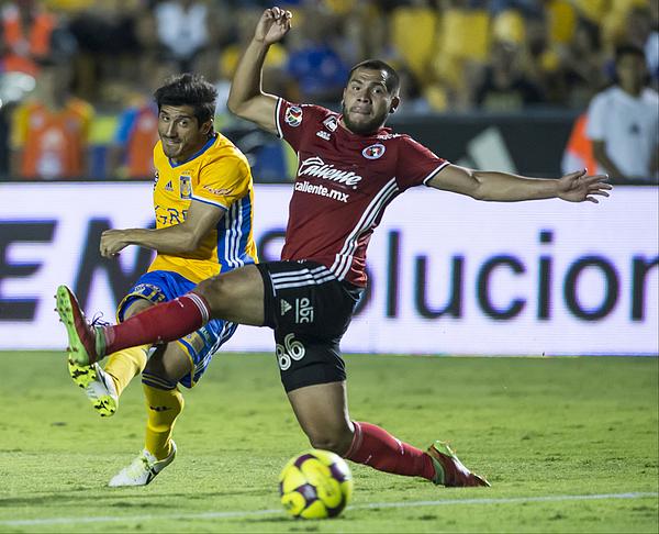 Tigres Uanl V Tijuana - Torneo Clausura 2017 Liga Mx Photograph by Azael Rodriguez