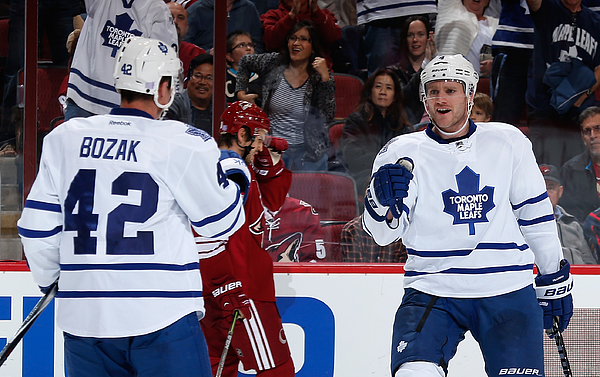 Toronto Maple Leafs v Arizona Coyotes Photograph by Christian Petersen