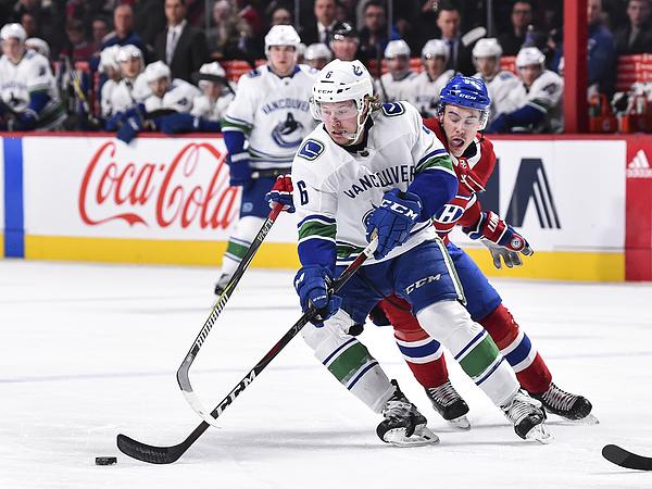 Vancouver Canucks v Montreal Canadiens Photograph by Minas Panagiotakis