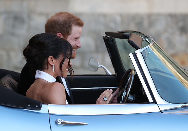 Prince Harry Marries Ms. Meghan Markle - Windsor Castle Photograph by WPA Pool