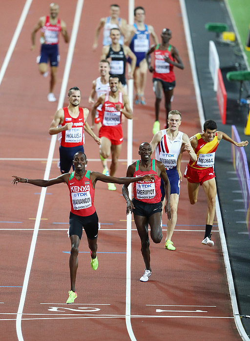 16th IAAF World Athletics Championships London 2017 - Day Ten Photograph by Michael Steele