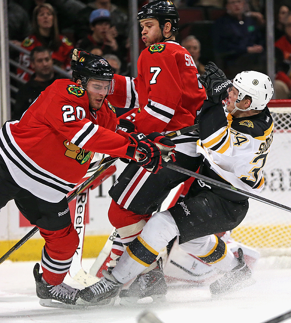 Boston Bruins v Chicago Blackhawks Photograph by Jonathan Daniel