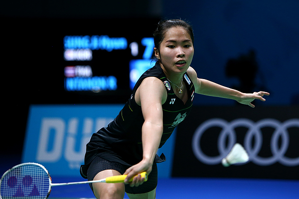 BWF Dubai World Superseries Finals - Day One Photograph by Charlie Crowhurst